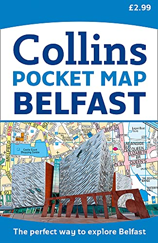 Collins Belfast Pocket Map By Collins Maps