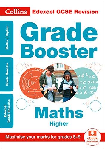 Edexcel GCSE 9-1 Maths Higher Grade Booster (Grades 5-9) By Collins GCSE