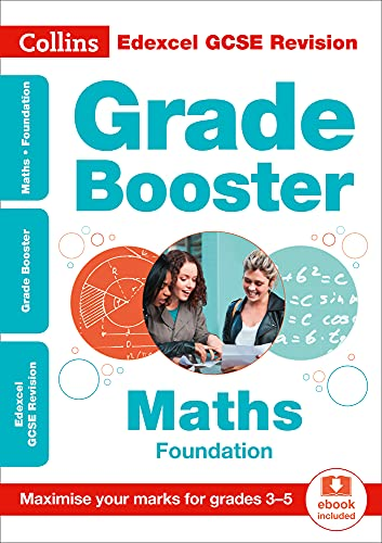Edexcel GCSE 9-1 Maths Foundation Grade Booster (Grades 3-5) By Collins GCSE