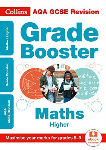 AQA GCSE 9-1 Maths Higher Grade Booster for grades 5-9 By Collins GCSE