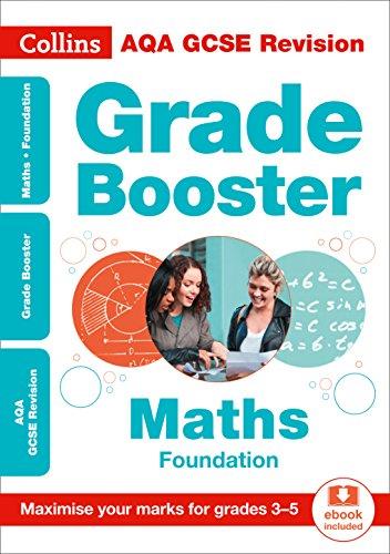 AQA GCSE 9-1 Maths Foundation Grade Booster (Grades 3-5) By Collins GCSE