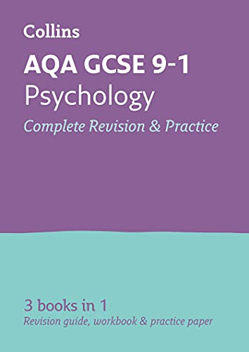 Grade 9-1 GCSE Psychology AQA All-in-One Complete Revision and Practice (with free flashcard download) By Collins GCSE