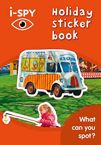 i-SPY Holiday Sticker Book By i-SPY