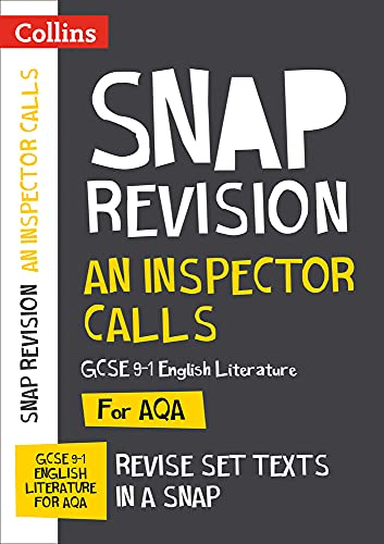 An Inspector Calls: AQA GCSE English Literature Text Guide (Collins Snap Revision) By Collins GCSE