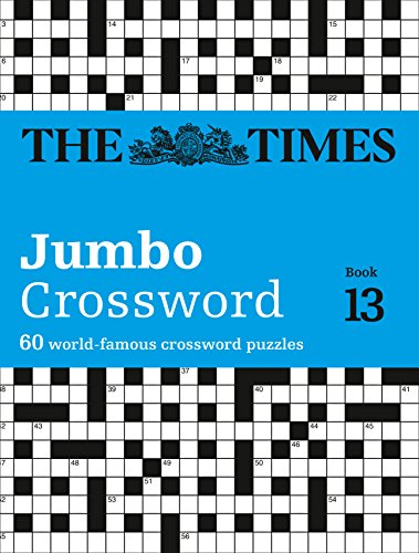 The Times 2 Jumbo Crossword Book 13: 60 world-famous crossword puzzles By The Times Mind Games