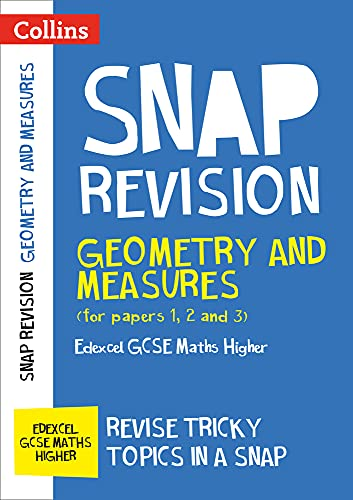 Edexcel GCSE 9-1 Maths Higher Geometry and Measures (Papers 1, 2 & 3) Revision Guide By Collins GCSE