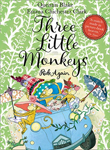 Three Little Monkeys Ride Again par Quentin Blake
