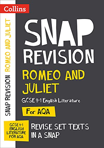 Romeo and Juliet: New Grade 9-1 GCSE English Literature AQA Text Guide By Collins GCSE