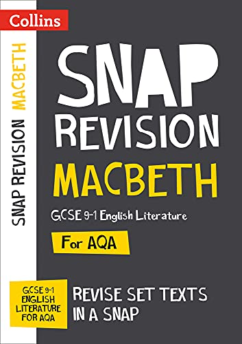 Macbeth: New Grade 9-1 GCSE English Literature AQA Text Guide By Collins GCSE