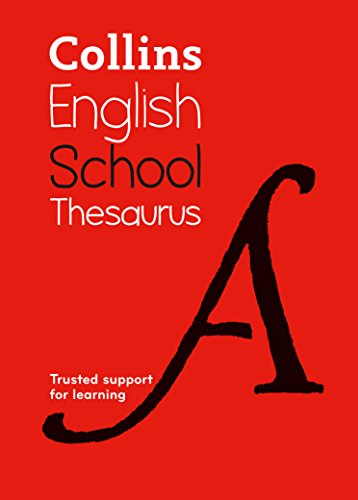 Collins School Thesaurus By Collins Dictionaries