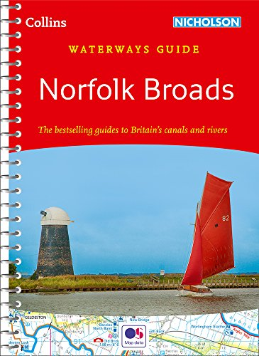 Norfolk Broads By Collins Maps