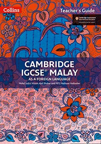 Cambridge IGCSE (TM) Malay Teacher's Guide By Mohd Saiful Nizam Abd Shukor