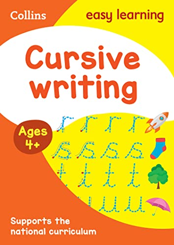Cursive Writing Ages 4-5 (Collins Easy Learning Preschool) By Collins Easy Learning