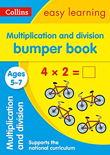Multiplication and Division Bumper Book Ages 5-7 By Collins Easy Learning