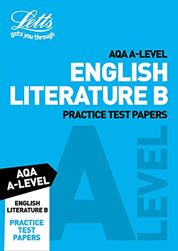 AQA A-Level English Literature B Practice Test Papers By Letts A-Level