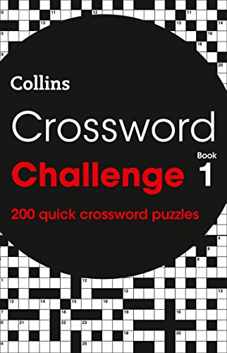 Crossword Challenge book 1: 200 puzzles (Crosswords) By Collins