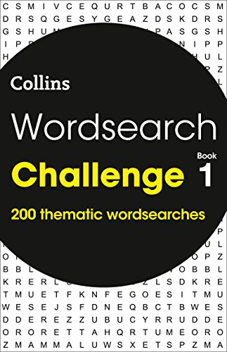 Wordsearch Challenge book 1 By Collins Puzzles