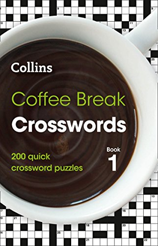 Coffee Break Crosswords book 1: 200 puzzles By Collins