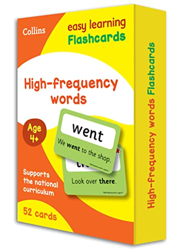 High Frequency Words Flashcards By Collins Easy Learning