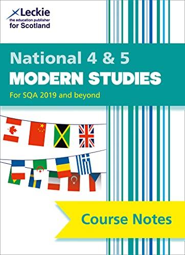 National 4/5 Modern Studies Course Notes von Elizabeth Elliott