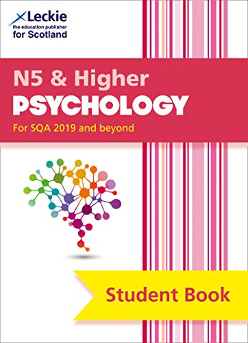 National 5 & Higher Psychology Student Book for New 2019 Exams By Jonathan Firth