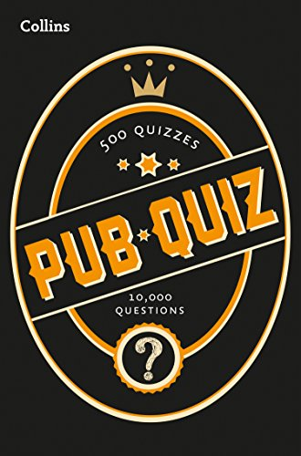 Collins Pub Quiz: 10,000 easy, medium and difficult questions (Quiz Books) By Collins