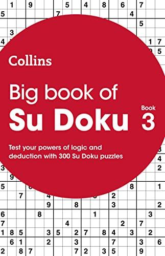 Big Book of Su Doku Book 3 By Collins Puzzles
