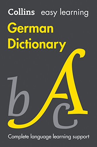Easy Learning German Dictionary von Collins Dictionaries