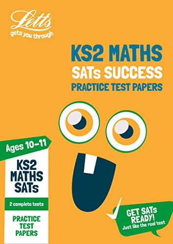 KS2 Maths SATs Practice Test Papers By Letts KS2