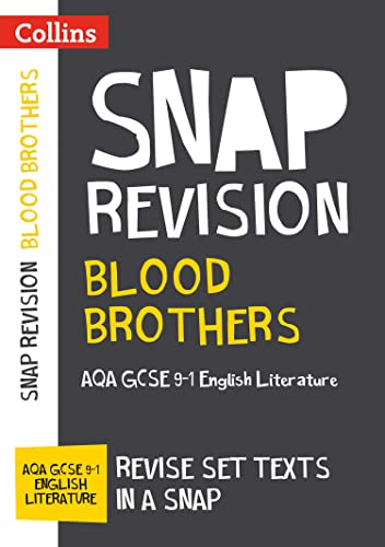 Blood Brothers: New Grade 9-1 New GCSE Grade English Literature AQA Text Guide By Collins GCSE