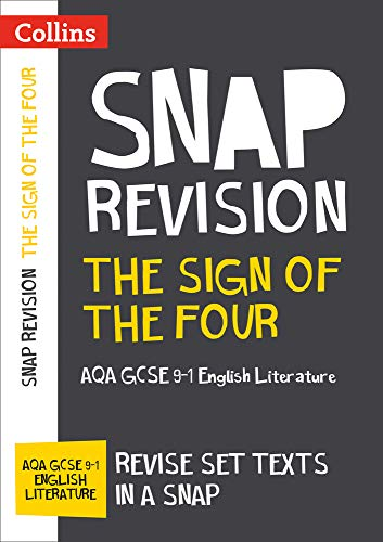 The Sign of Four: New Grade 9-1 GCSE English Literature AQA Text Guide By Collins GCSE