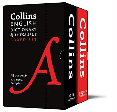 Collins English Dictionary and Thesaurus Boxed Set: All the words you need, every day By Collins Dictionaries