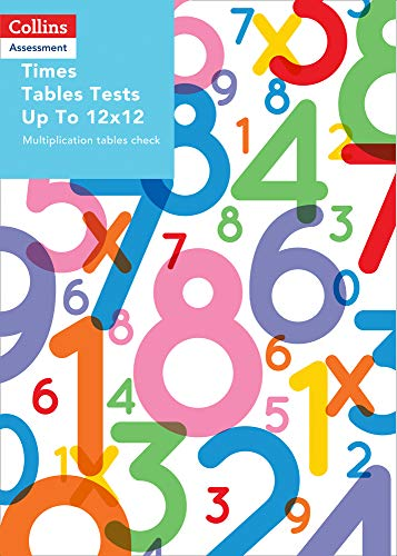 Times Tables Tests Up To 12x12 By Samantha Townsend
