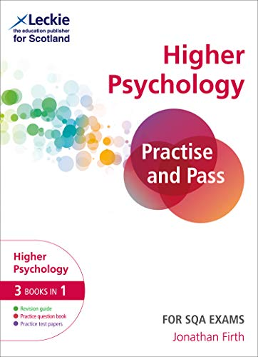 Practise and Pass Higher Psychology Revision Guide for New 2019 Exams By Jonathan Firth