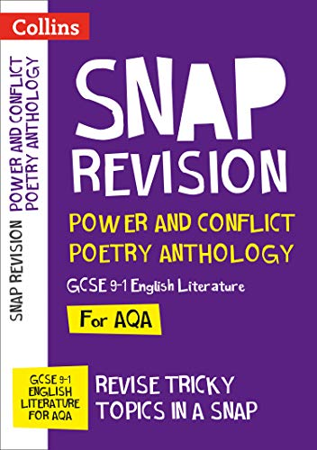Power & Conflict Poetry Anthology: New GCSE Grade 9-1 AQA English Literature By Collins GCSE