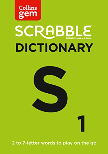 SCRABBLE (R) Dictionary Gem Edition By Collins Dictionaries