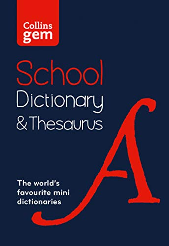 Gem School Dictionary and Thesaurus By Collins Dictionaries