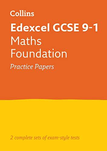 Edexcel GCSE 9-1 Maths Foundation Practice Papers By Collins GCSE