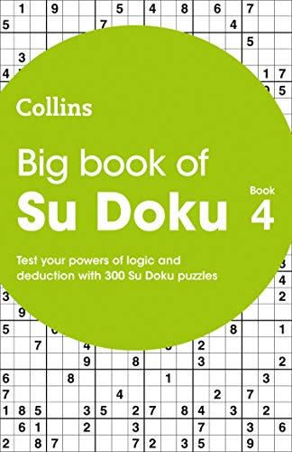 Big Book of Su Doku Book 4 By Collins Puzzles