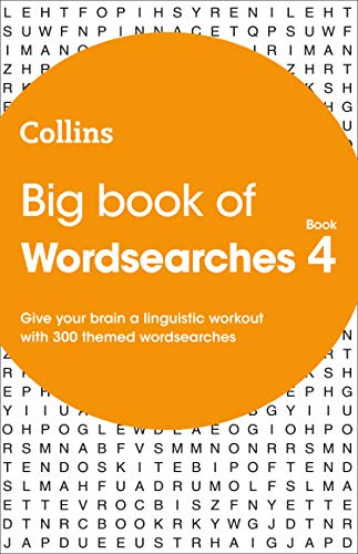 Big Book of Wordsearches book 4: 300 themed wordsearches By Collins