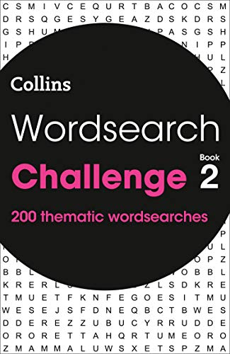 Wordsearch Challenge book 2 By Collins