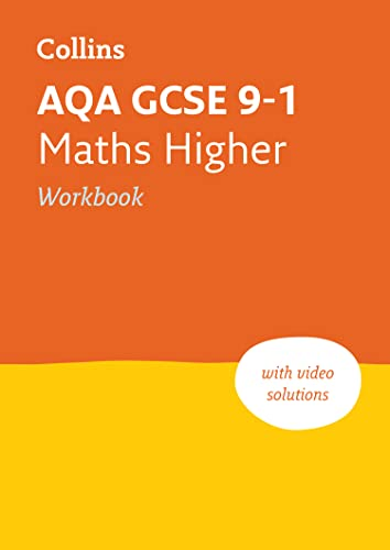AQA GCSE 9-1 Maths Higher Workbook By Collins GCSE