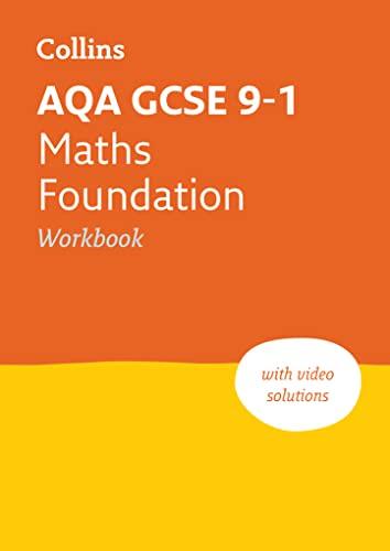 AQA GCSE 9-1 Maths Foundation Workbook By Collins GCSE