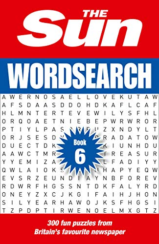 The Sun Wordsearch Book 6 By The Sun