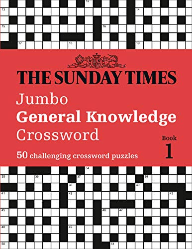 The Sunday Times Jumbo General Knowledge Crossword Book 1 By The Times Mind Games