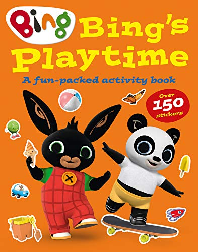 Bing's Playtime: A fun-packed activity book