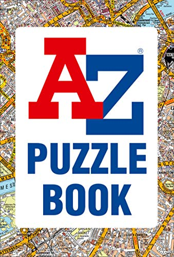 A-Z Puzzle Book By Collins UK