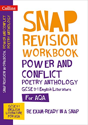 AQA Poetry Anthology Power and Conflict Workbook By Collins GCSE