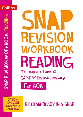 AQA GCSE 9-1 English Language Reading (Papers 1 & 2) Workbook By Collins GCSE