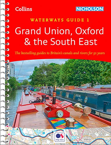 Grand Union, Oxford and the South East By Nicholson Waterways Guides